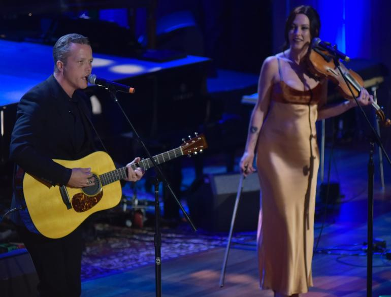 Jason Isbell and Amanda Shires Isbell, AMA Awards, AmericanaFest 2016