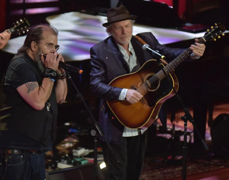 Steve Earle and Buddy Miller, AMA Awards, AmericanaFest 2016
