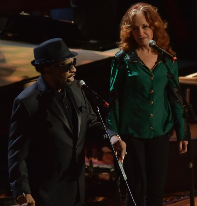 William Bell and Bonnie Raitt,  AMA Awards, AmericanaFest 2016