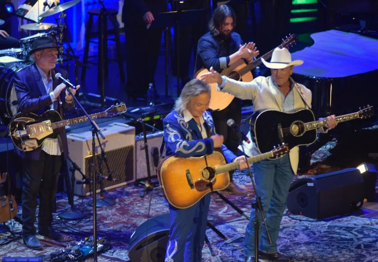 Jim Lauderdale, Buddy Miller and George Strait,  AMA Awards, AmericanaFest 2016
