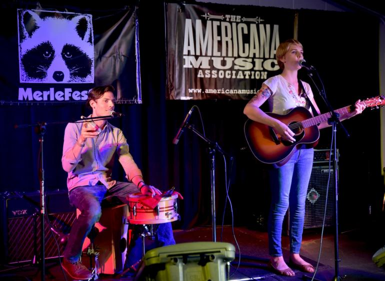 Dori Freeman at AmericanaFest 2016