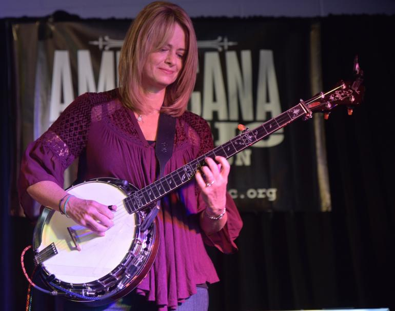 Alison Brown at AmericanaFest 2016