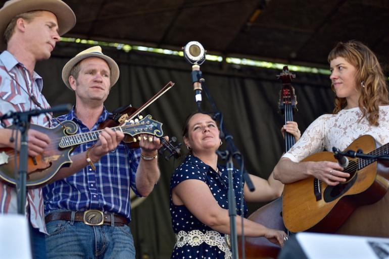 Foghorn Stringband, MerleFest 2016