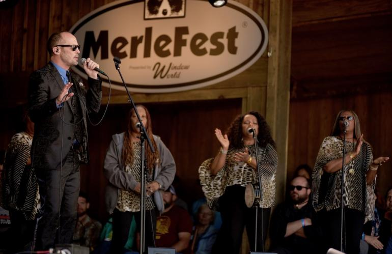 Paul Thorn and the McCrary Sisters, MerleFest 2018