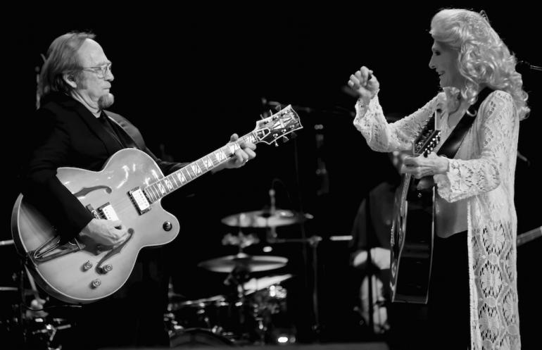 Stephen Stills and Judy Collins, Huntington, WV, October 2, 2017