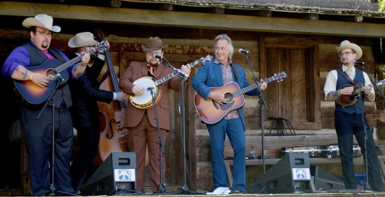 Jim Lauderdale and the Po' Rambin' Boys, MerleFest 2018