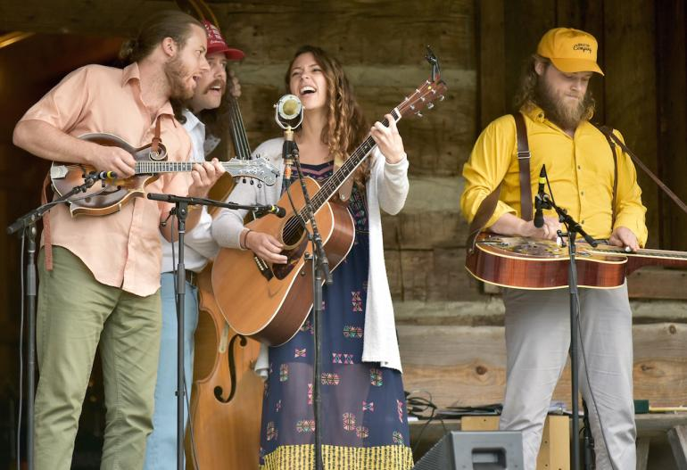 Lindsay Lou and the Flatbellys, MerleFest 2016