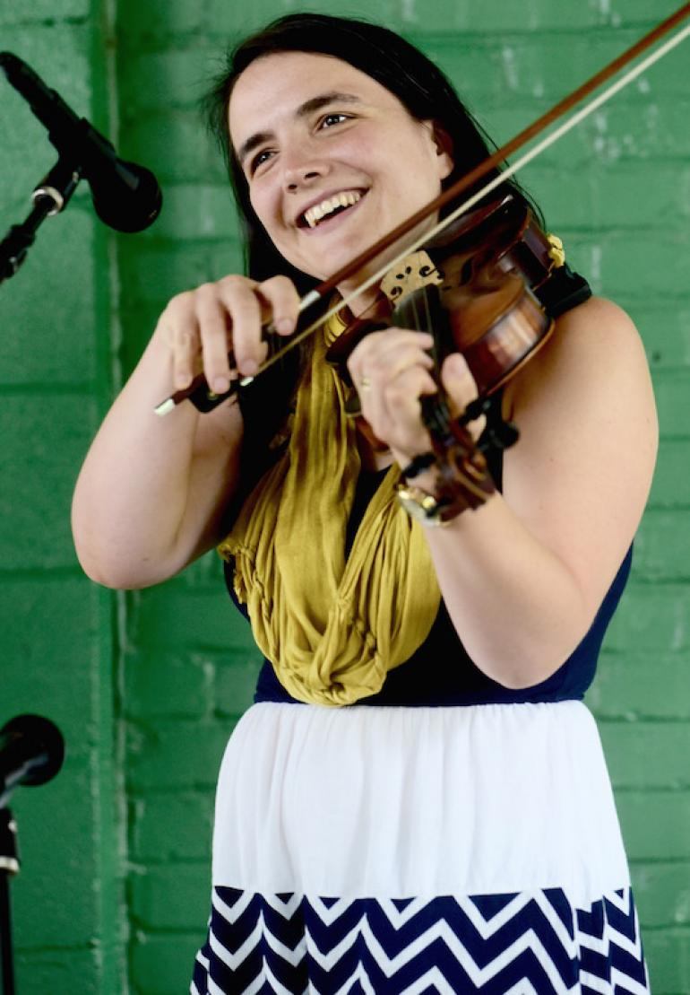 Emily Miller, Augusta Heritage Festival 2017