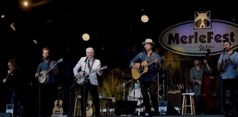 Steve Martin and the Steep Canyon Rangers, MerleFest 2018