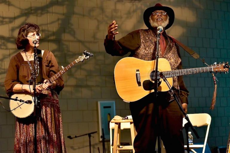 Sparky and Rhonda Rucker, MerleFest 2016