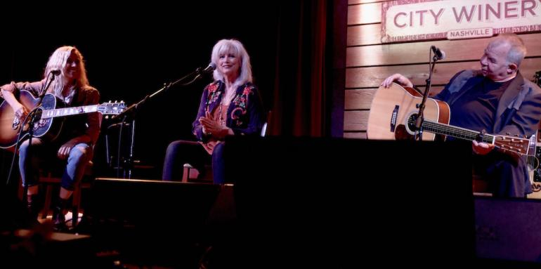 Emmylou Harris, John Prine and Sheryl Crow, Bonaparte's Retreat Benefit