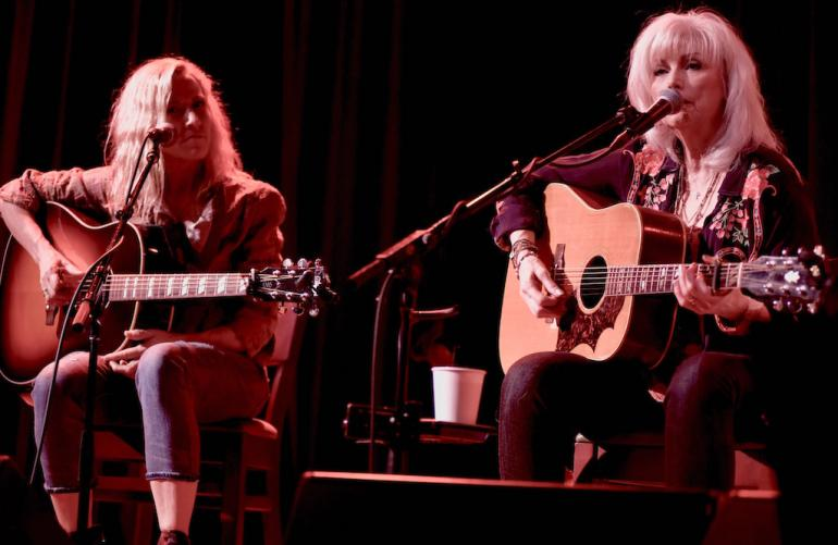 Emmylou Harris and Sheryl Crow, Bonaparte's Retreat Benefit
