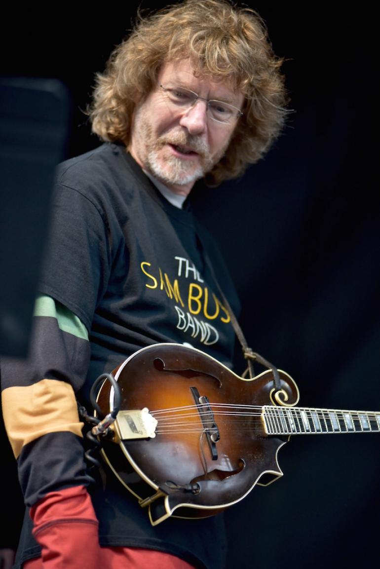 Sam Bush, MerleFest 2016