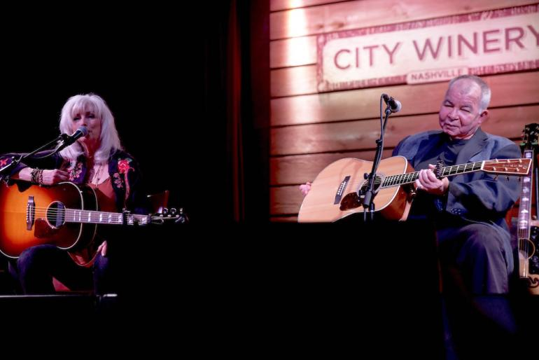 Emmylou Harris and John Prine, Bonaparte's Retreat Benefit