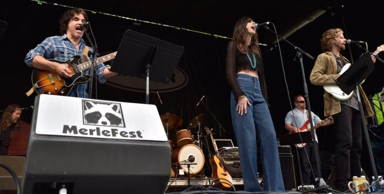James Nash, John Oates and Nicki Bluhm, Hillside Album Hour, MerleFest 2016