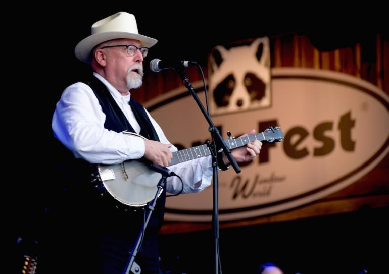 Joe Newberry at MerleFest 2017
