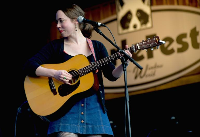 Sarah Jarosz at MerleFest 2017