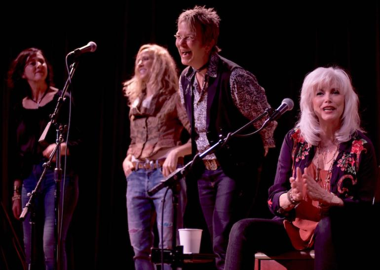 Emmylou Harris, Fiona Prine, Sheryl Crow, and Mary Gauthier