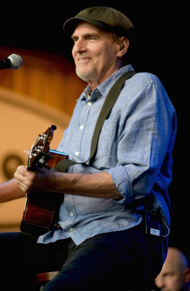 James Taylor at MerleFest 2017