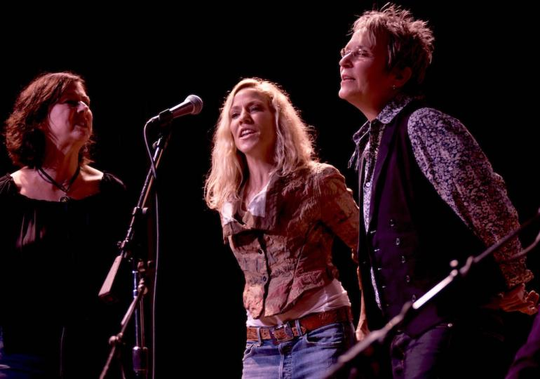 Sheryl Crow, Mary Gauthier and Fiona Prine, Bonaparte's Retreat Benefit