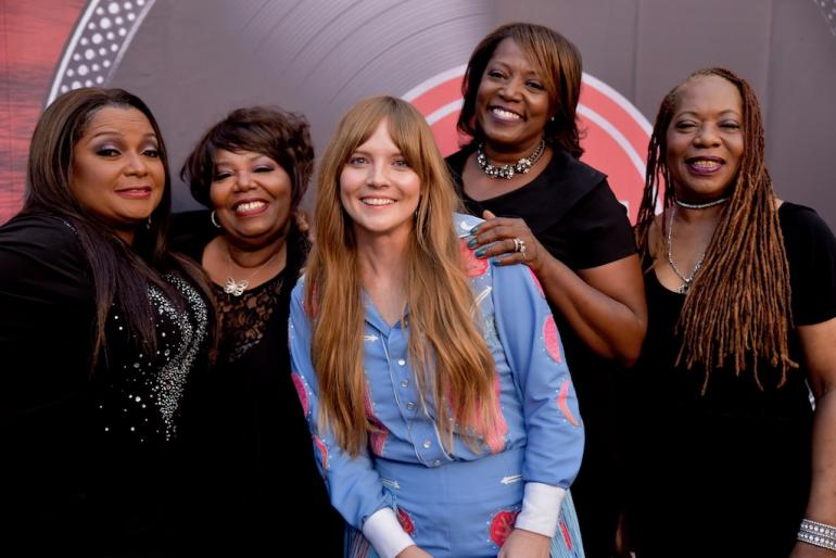 The McCrary Sisters and Courtney Marie Andrews on the Red Carpet, AmericanaFest 2018