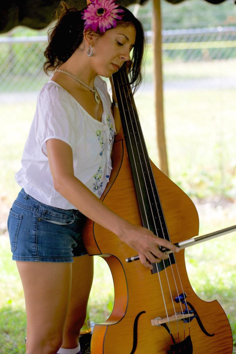 Culture Camp Bass Workshop:  Nilu Jimenez-Ross