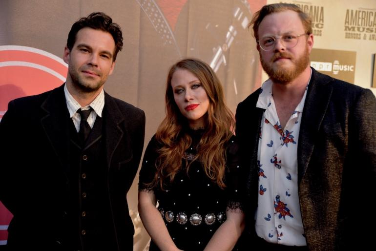The Lone Bellow on the Red Carpet, AmericanaFest 2018
