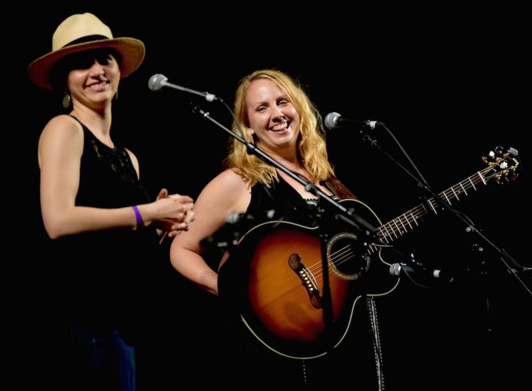 Mary Bragg , Chris Austin Songwriting Winner (Country) at MerleFest 2017