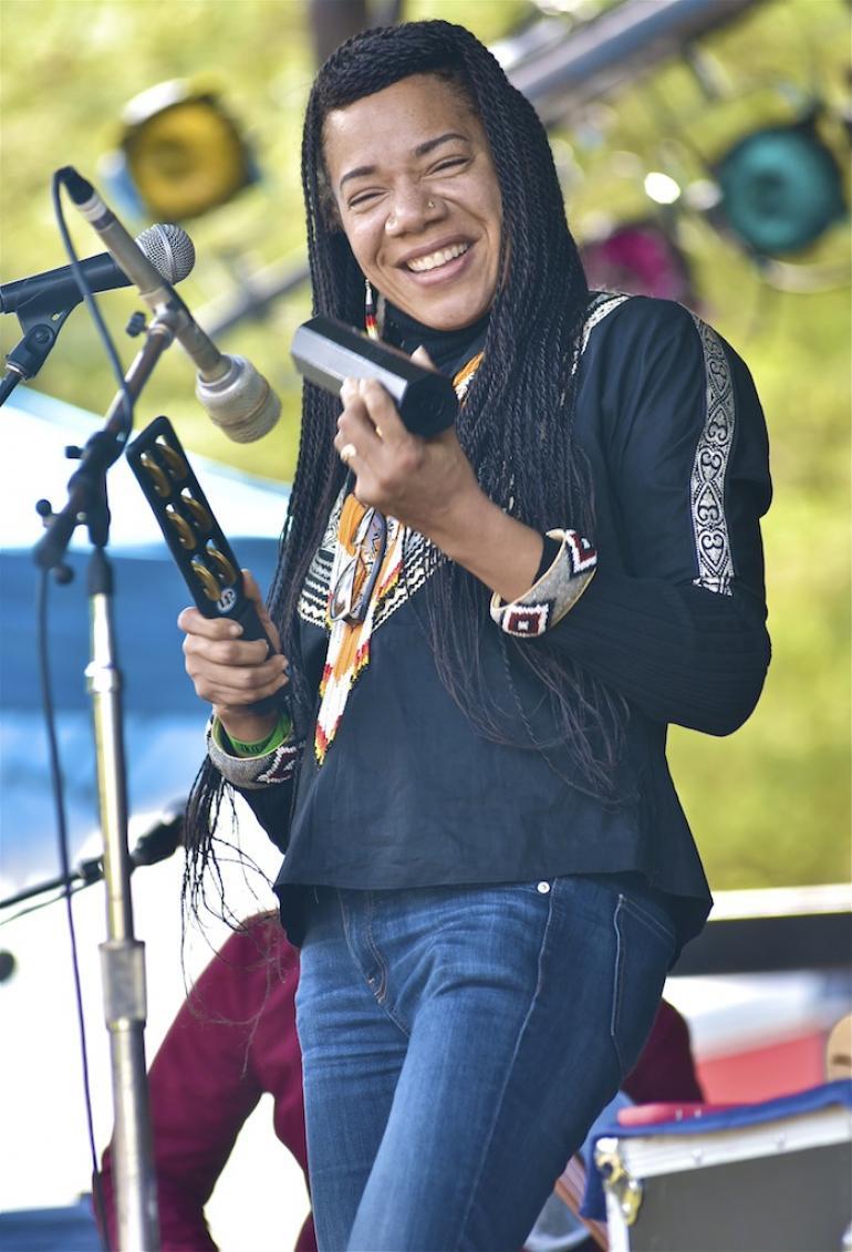 Martha Redbone, Shakori Hills Festival Spring 2016