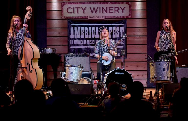Baskery at AmericanaFest 2016