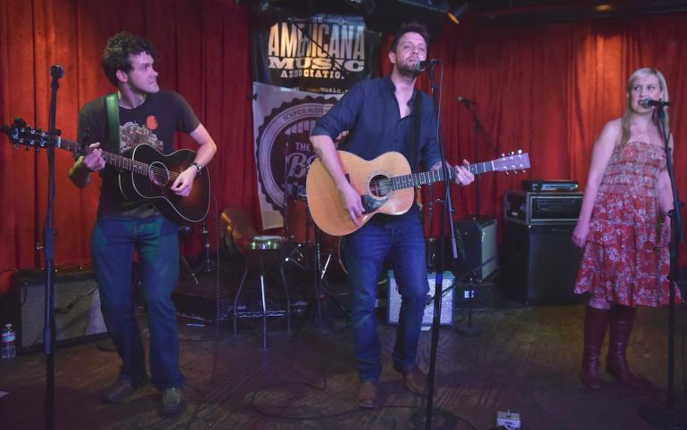 Shane Nicholson and Weeping Willows at AmericanaFest 2016