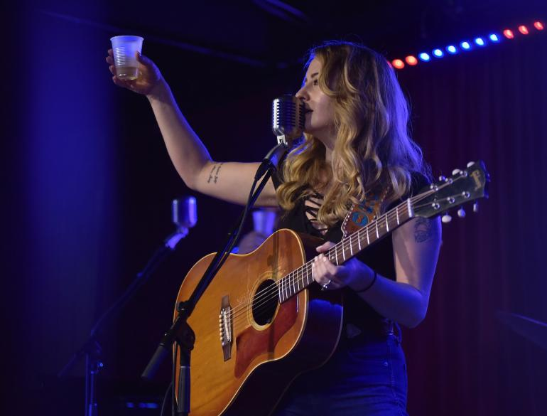Margo Price Raises a Glass to the AMA at AmericanaFest 2016