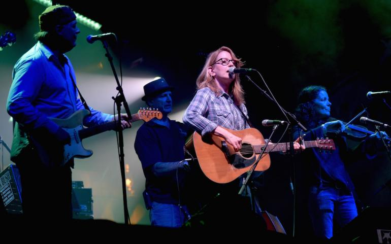 Donna the Buffalo Saturday Night Jam at MerleFest 2017