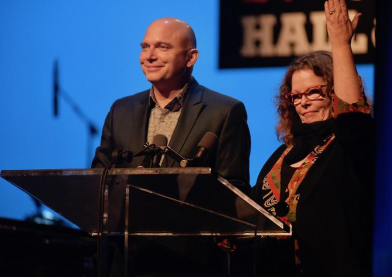 Michael Cerveris and Mollie O'Brien, Hosts, West Virginia Music Hall of Fame 2018
