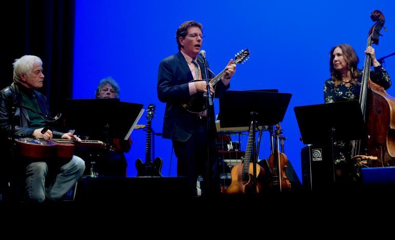 Tim O'Brien, Russ Hicks, Missy Raines & Michael Lipton, West Virginia Music Hall of Fame