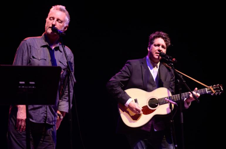 Billy Bragg and Joe Henry, AmericanaFest 2017