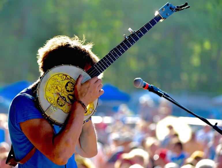 Richie Stearns and Banjo, Finger Lakes GrassRoots Festival