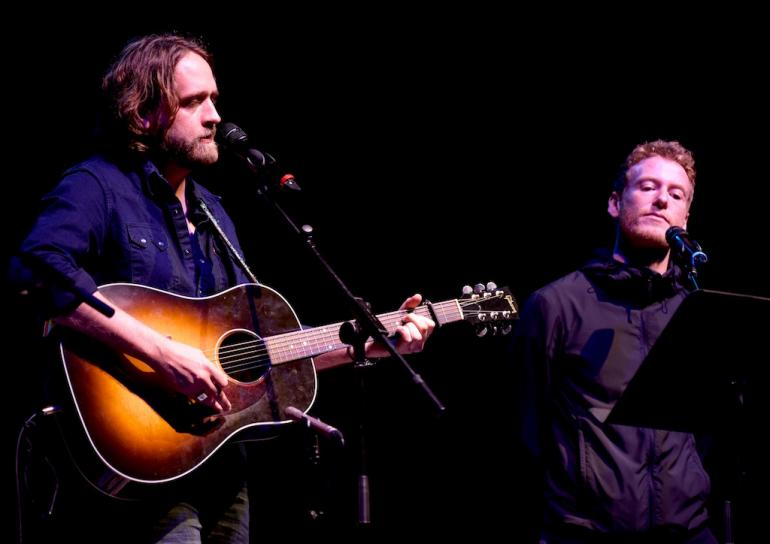 Hayes Carll and Teddy Thompson, AmericanaFest 2017