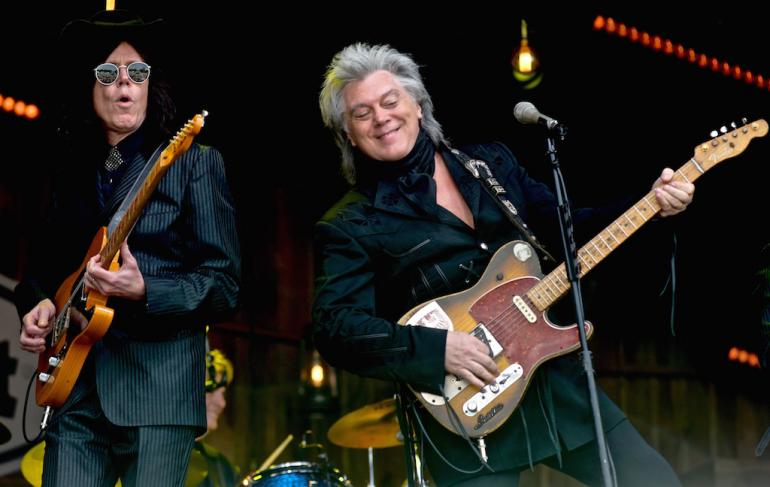 Marty Stuart and Kenny Vaughn at MerleFest 2017