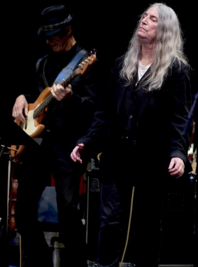 Patti Smith and Steve Hill, West Virginia Music Hall of Fame 2018