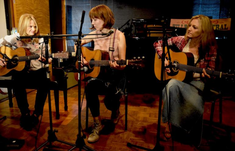 Allison Brown, Molly Tuttle and Rebecca Frazier, Compass Records, AmericanaFest 2017
