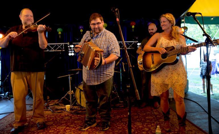 Balfa Toujours, Finger Lakes GrassRoots Festival 2017