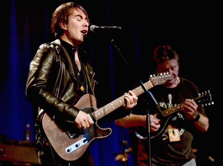 "Dhani Harrison: ""Baby Let Me Follow You Down"""