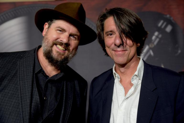 Patterson Hood and Mike Cooley, the AMA Red Carpet, AmericanaFest 2017