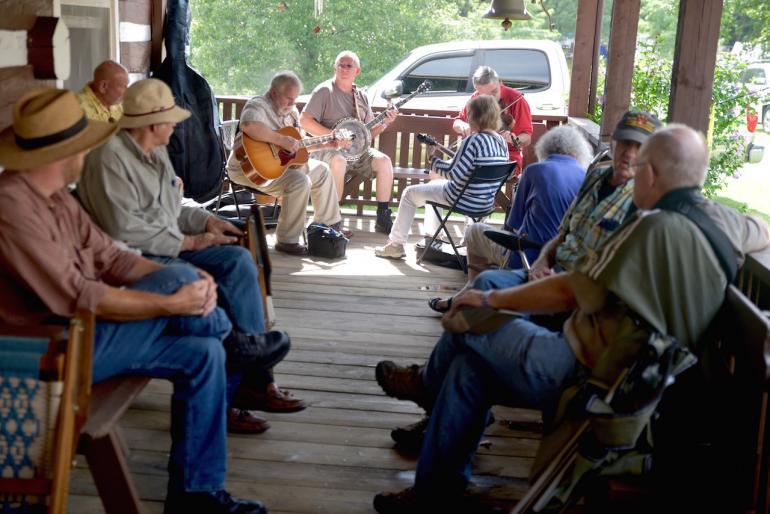 Front Porch Musicians, Clifftop 2016