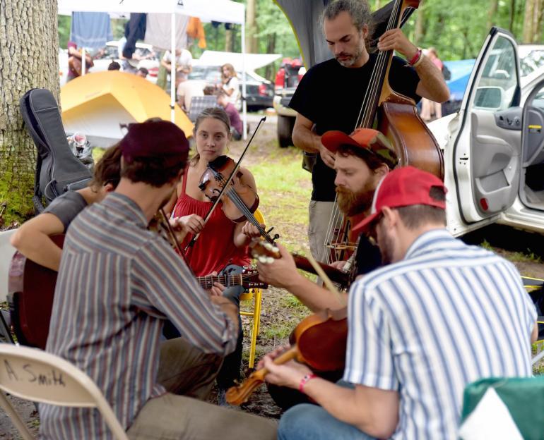 Campsite Musicians, Clifftop 2016