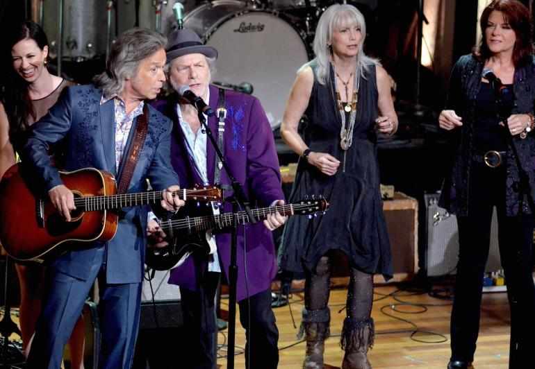 Jim Lauderdale, Emmylou Harris, Buddy Miller, Rosanne Cash and Joy Williams, AMA Awards