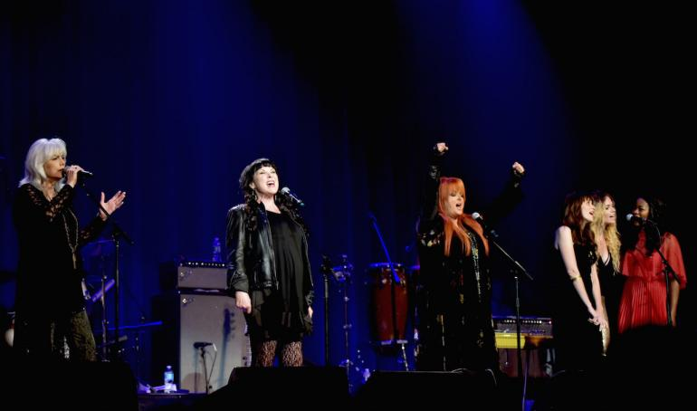 "Emmylou Harris, Ann Wilson and Wynonna Judd: ""Ring Them Bells"""