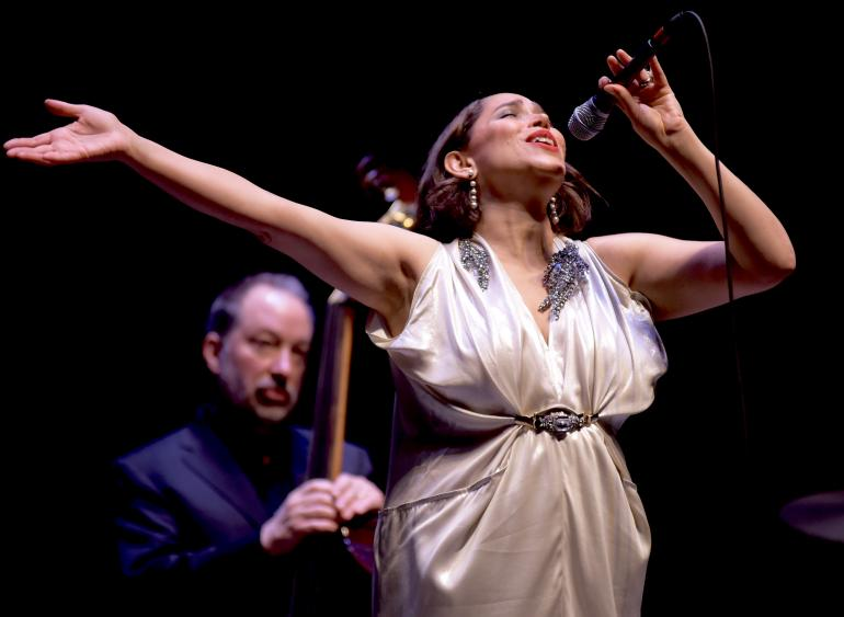 China Forbes, Pink Martini, Clay Center, Charleston, West Virginia