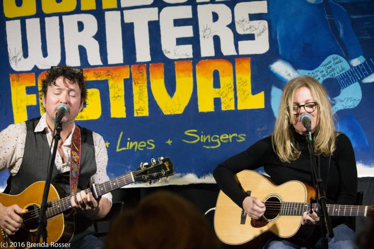 Will Kimbrough and Brigitte DeMeyer @ 30A Songwriters Festival